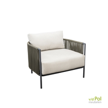 YOI loungestoel Umi green - grey