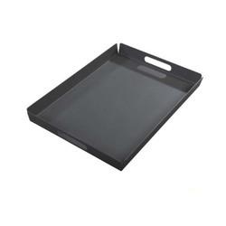 yoi outdoor dienblad hokan 55-x-40-cm donkergrijs aluminium handvat