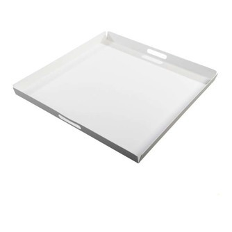 groot wit vierkant dienblad yoi hokan 70 x 70 cm voor buiten