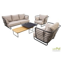 Loungeset sofa Taiyo 5-delig