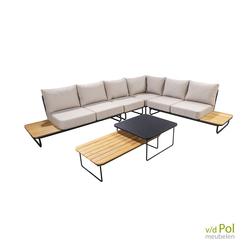 yoi-taiyo-loungehoek-buiten-lichte-kussens-teakhout-aluminium-met-salontafels