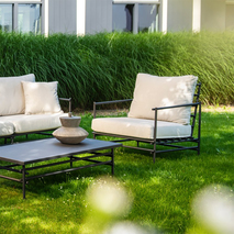 Loungestoel aluminium slank frame - Ki Yoi