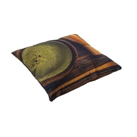 tuin sierkussen met print van yoi furniture tea