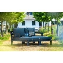 Yoi Midori loungebedden tuin set van 2