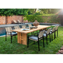 Yoi dining tuinset  8 persoons - Zen Ishi