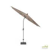 Staande parasol Platinum Riva taupe 3m