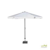 Parasol rond wit 3m - Platinum Antigua Volant