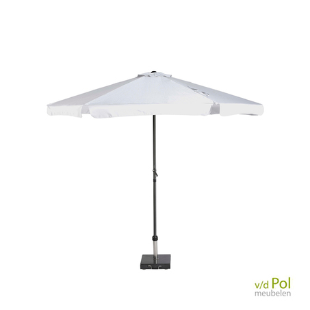 parasol-rond-wit-3m-platinum-antigua-volant