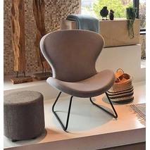 Ruby Slide fauteuil ronde vorm & sledeframe