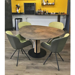eivormige-tafel-steely-hpl-plastica-brons