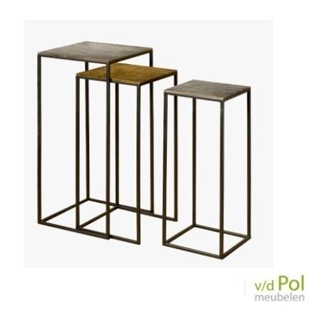 set-3-hoge-bijzettafels-motief-brons-tin-tl-design
