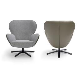 design fauteuil Legendary van Dutch design merk bree's new world is draaibaar en heeft fantastisch zitcomfort