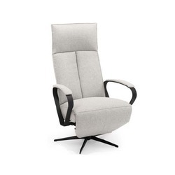Moderne relaxfauteuil Hjort Knudsen 5828 met elegant smalle hoge rug