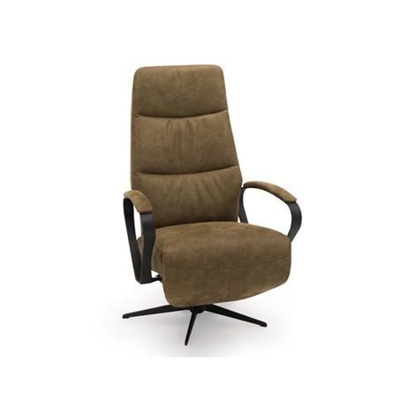 Hjort Knudsen 7073 relaxfauteuil met verstelbare rug en voetensteun