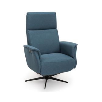 Sta op stoel 8007 van Hjort Knudsen in leer met handmatige of electrische bediening