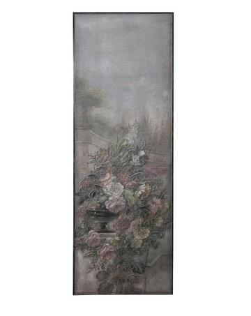 PTMD wanddecoratie hout paneel door Hidde Bruin geschilderd romantisch bloemen -  694075